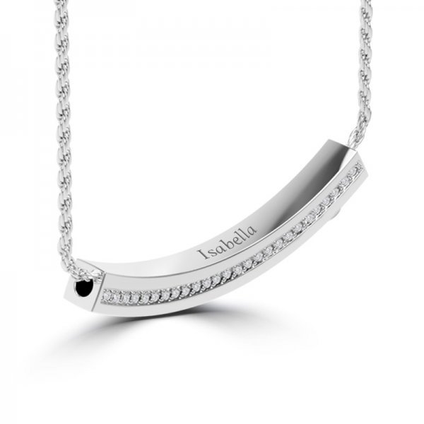 Block necklace Olivia