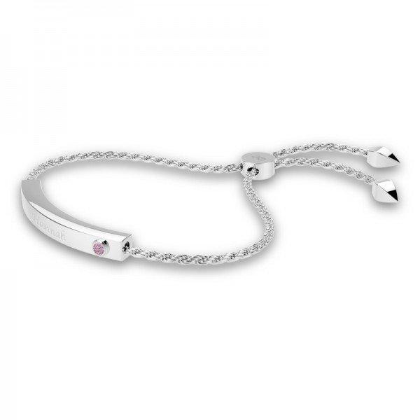 Block sliding lock bracelet Jacey