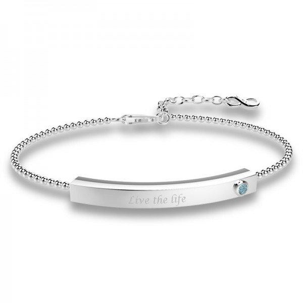 Block stretch bracelet Jacey