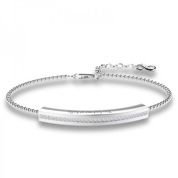 Block stretch bracelet Aurora