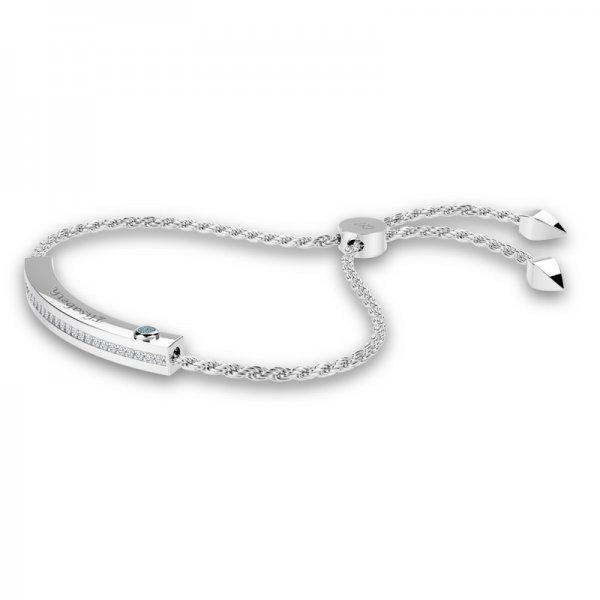 Block sliding lock bracelet Olivia