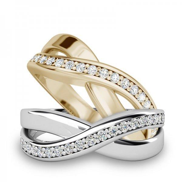 Sparkle ring 14K goud Robyn