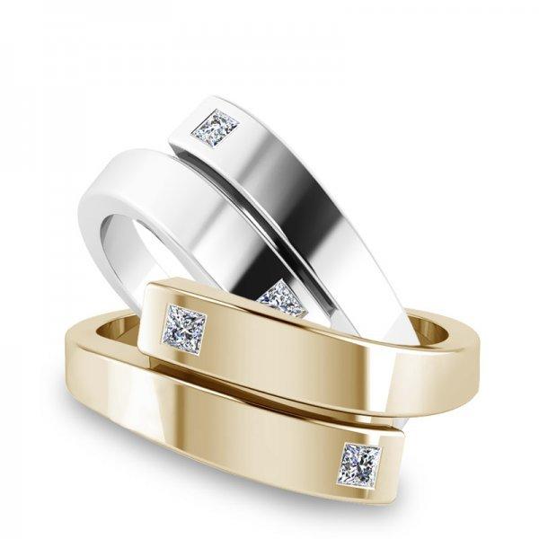 Sparkle ring 14K goud Scarlett