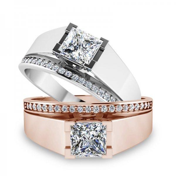 Sparkle ring 14K goud Jayda