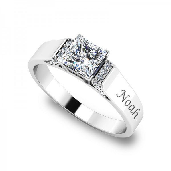 Sparkle ring zilver Evelyn