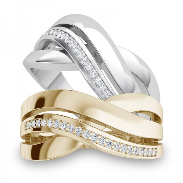 Sparkle ring 14K goud Felicity
