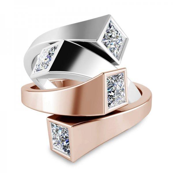 Sparkle ring 14K goud Kaylee