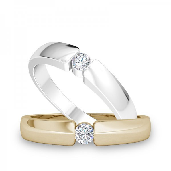 Sparkle ring 14K goud Emily