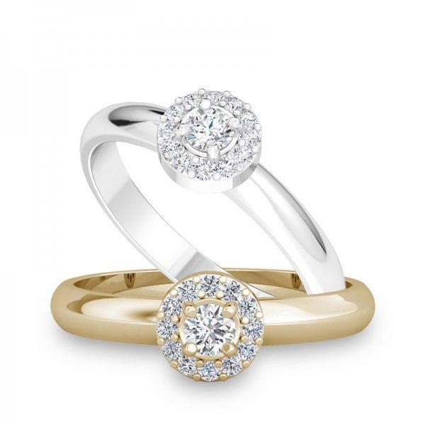 Sparkle ring 14K goud Jennifer