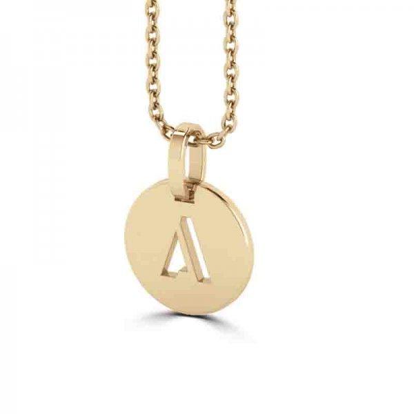 Tiny Tags hanger 14K goud Zara