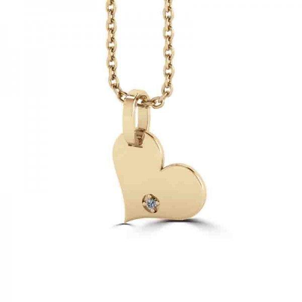Tiny Tags hanger 14K goud Maya
