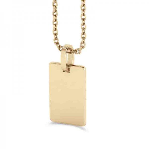 Tiny Tags hanger 14K goud Izzy