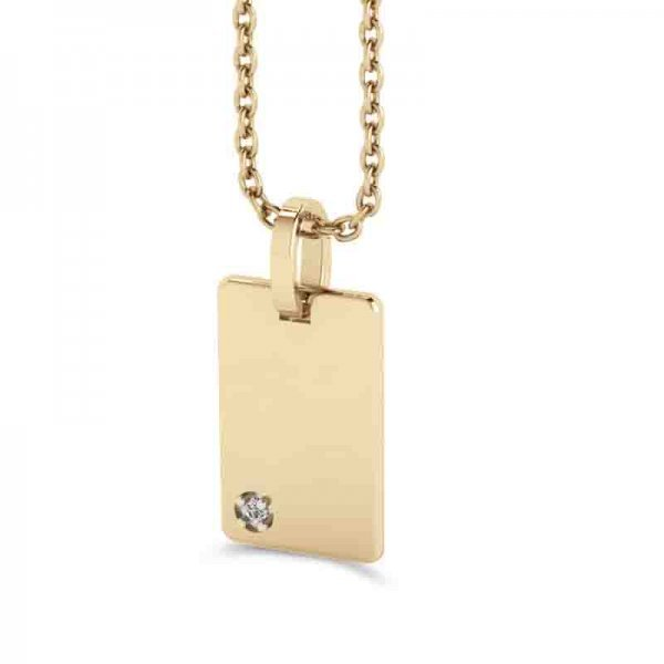 Tiny Tags hanger 14K goud Dana