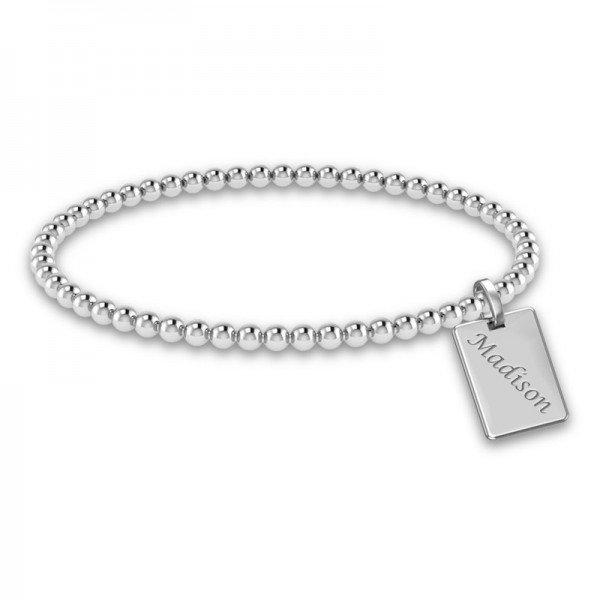 Tiny Tags stretch bracelet Izzy