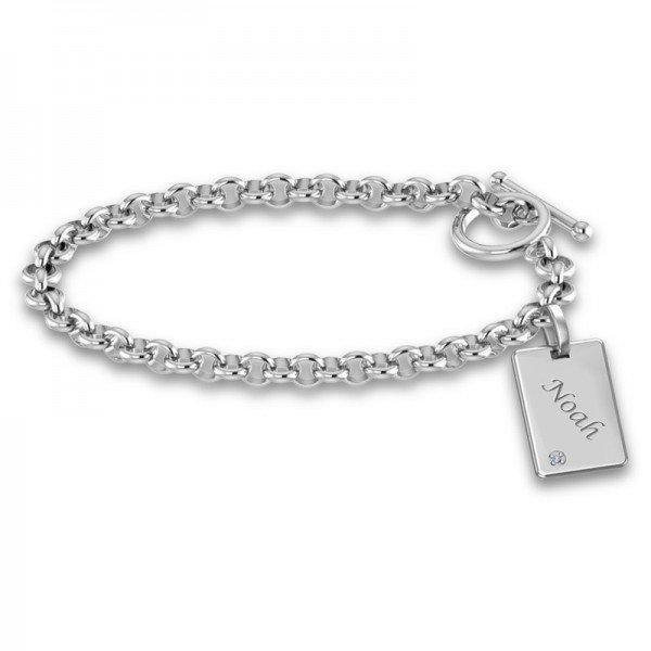 Tiny Tags bracelet Dana