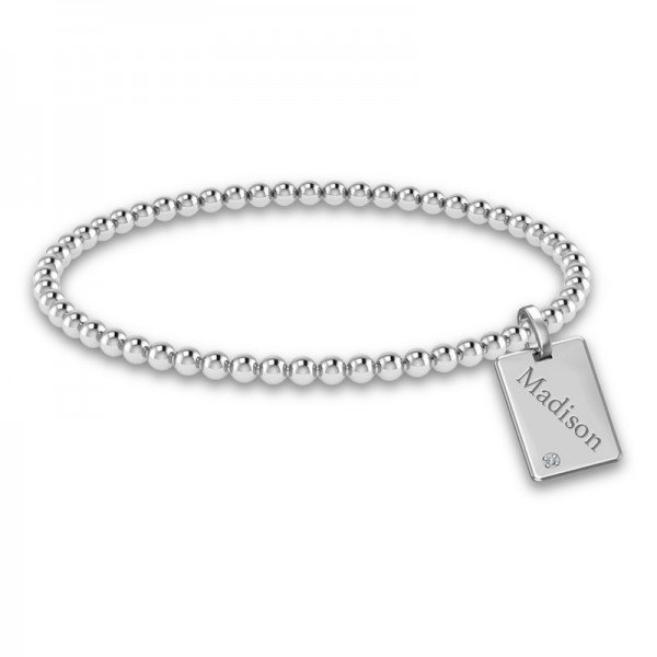 Tiny Tags stretch bracelet Dana
