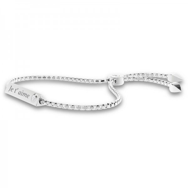 Triangle sliding lock bracelet Emma