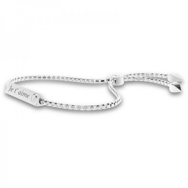 Triangle schuif armband Emma