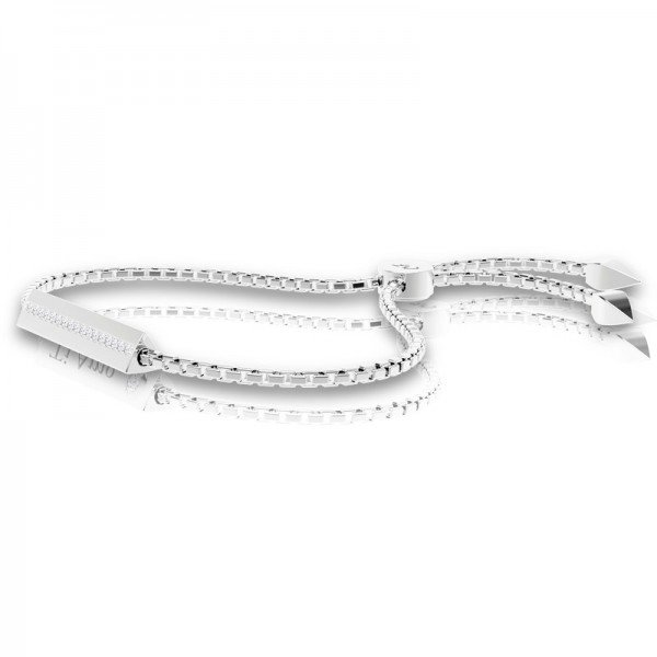Triangle sliding lock bracelet Lidia