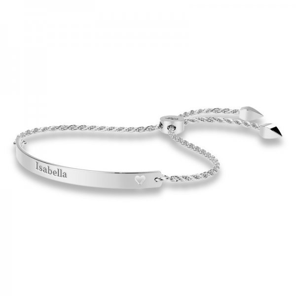 Cut-Out sliding lock bracelet Arabella