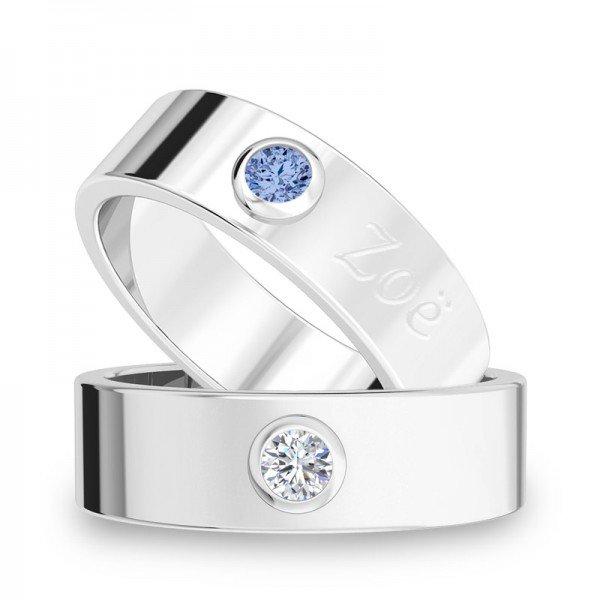 Diamond Bar ring Lauren